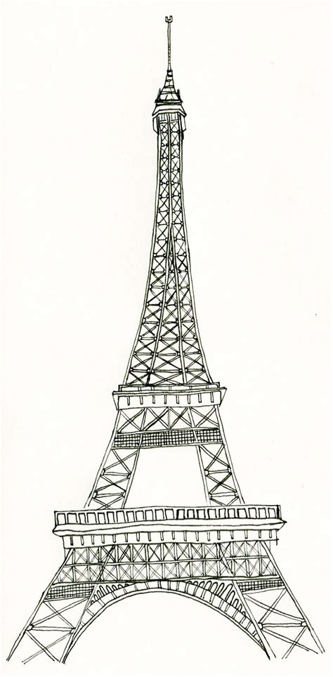 eiffel tower template best photos of eiffel tower printable black eiffel tower