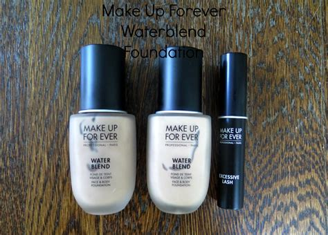 lotd with make up forever water blend foundation norah