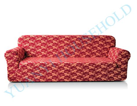 friendly material for couches drawing room 3 seat printed sofa covers polyester spandex