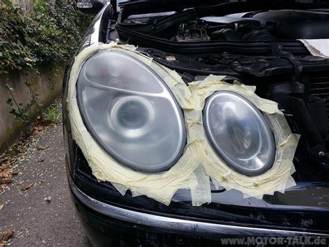 Polieren Scheinwerfer by 7 Polierpaste Scheinwerfer Polieren Mercedes E Klasse