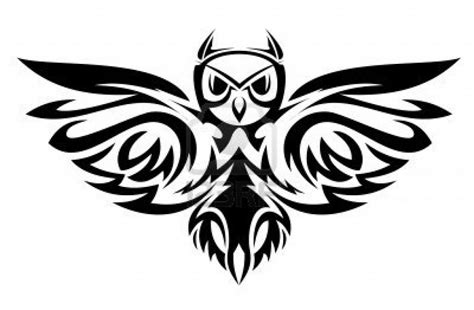 tattoo owl tribal owl tattoo designs drawings clipart best