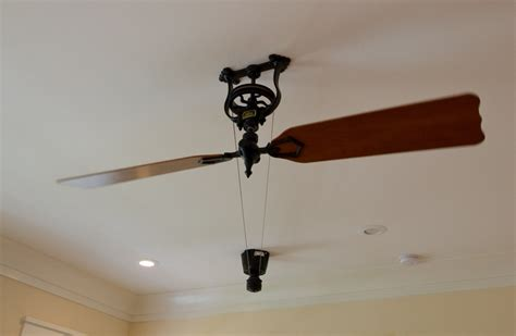 ceiling fan pulley system ceiling fan with pulley system best home design 2018