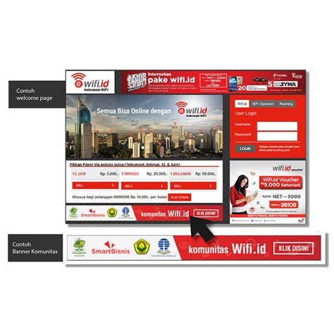 Voucher Wifi voucher wifi id 1 bulan unlimited up to 100 mbps elevenia