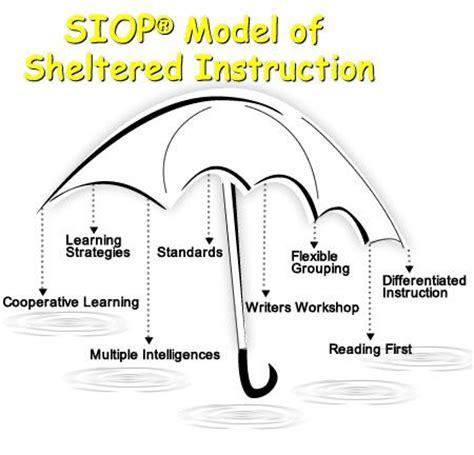 siop model of sheltered instruction teaching pinterest