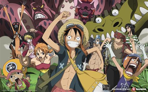 one piece film x strong world one piece film strong world madman entertainment