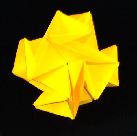 Origami Hobby - origami hobby kusudama void