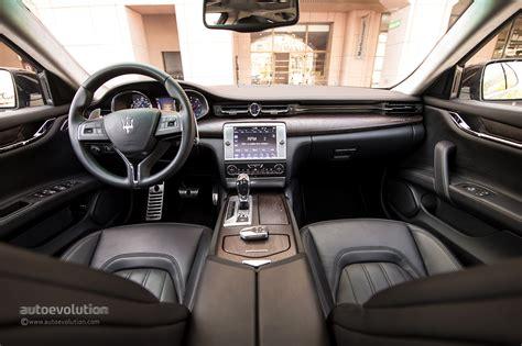 maserati quattroporte interior black maserati quattroporte gts review autoevolution