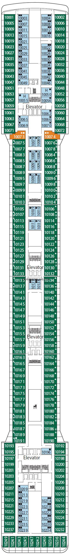 aidaprima deckplan 10 msc magnifica deck 10 deck plan tour