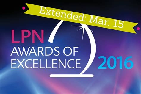 March 15 Mba Deadline by Lpn Non Lpn Award Nominations Extended To March 15 Clpna