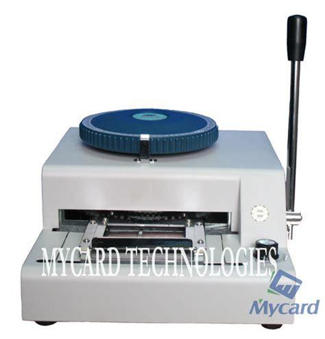 pvc card machine china mycard plastic card embosser machines mv china