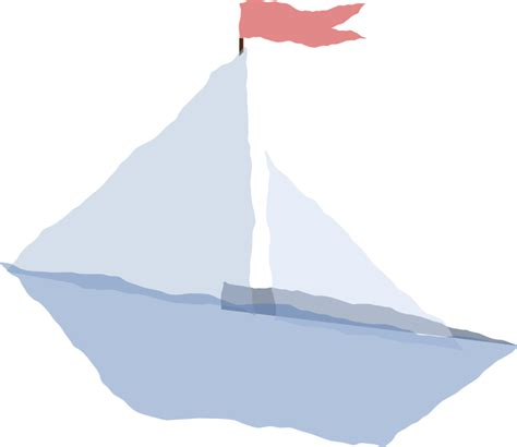 clipart paper boat clipart crumpled paper boat