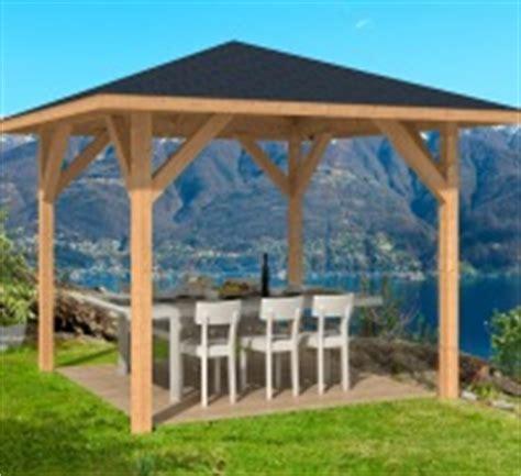 Holz Pavillon 3x4 by Tourist Open Timber Gazebo 3 4x3 4m