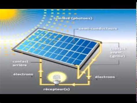 panneaux solaires et photons comment ca fonctionne