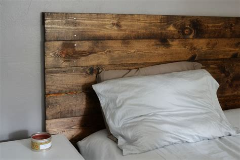 Wood Headboard Ideas Headboard Finished