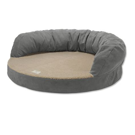bolster bed bolster bed with memory foam orvis