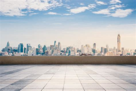 city top flore background roof top balcony with cityscape background stock photo image 79028110