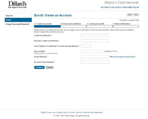 credit card make a payment dillard s credit card login make a payment