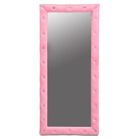 value city floor ls valerie floor mirror pink value city furniture