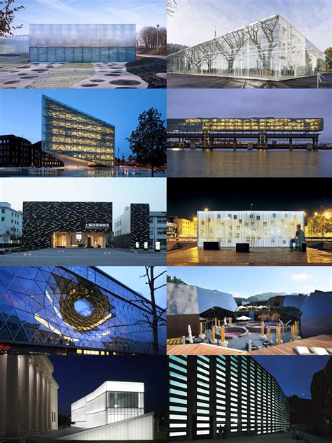 design museum london archdaily material inspiration 10 projects inspired by glass