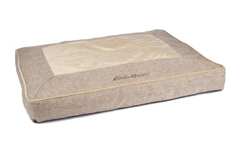 eddie bauer dog bed eddie bauer extra large linen gusset dog bed groupon