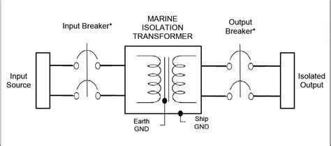 marine isolation transformer wiring diagram 43 wiring