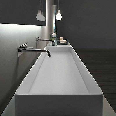 design waschtisch aufsatzwaschbecken mineralwerkstoff