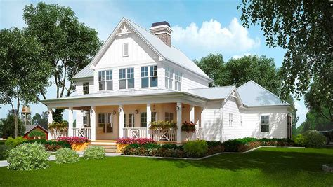 farmhouse floorplans a honey of a farmhouse 92381mx architectural designs