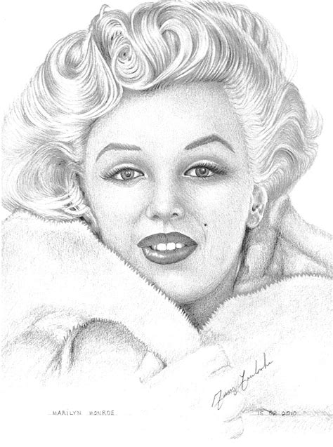 free coloring pages of marilyn monroe