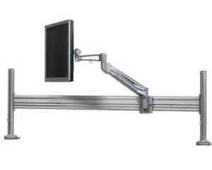 sliding monitor arm desk mount