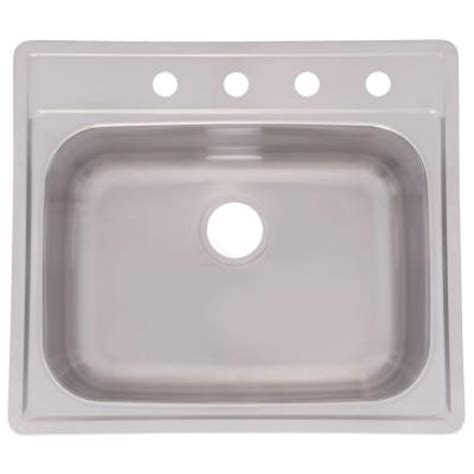 Top Stainless Steel Kitchen Sinks by Frankeusa Top Mount Stainless Steel 25 In 4 Single