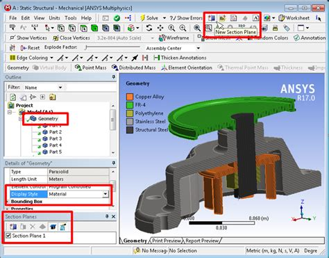 ansys section view tech tip new display features ozen engineering and ansys