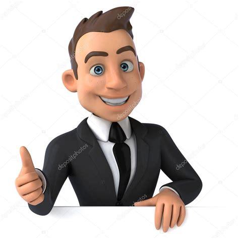 imagenes animadas empresariales 有趣的年轻卡通商人 图库照片 169 julos 60666265