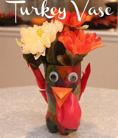 thanksgiving centerpiece crafts for thanksgiving craft for turkey vase centerpiece