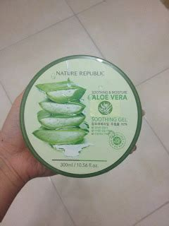 Natur Shoo Lidah Buaya favourite shop nature republic aloe vera soothing gel