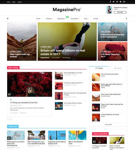 wp theme blog magazine 10 newest newspaper magazine wordpress themes of 2018