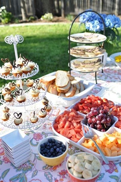 Backyard Wedding Buffet Ideas 15 Best Images About Outdoor Buffet Table On
