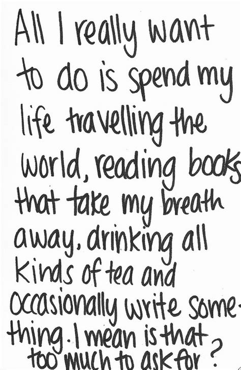 to my books is that much to ask for