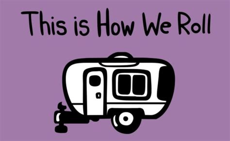 this is how we this is how we roll rv cing shirt