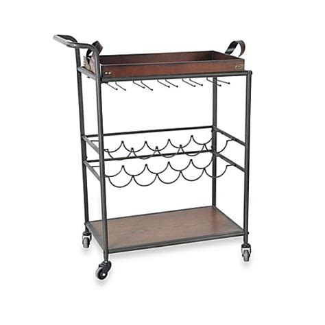 bed bath and beyond cart wine storage cart with removable tray top bed bath beyond