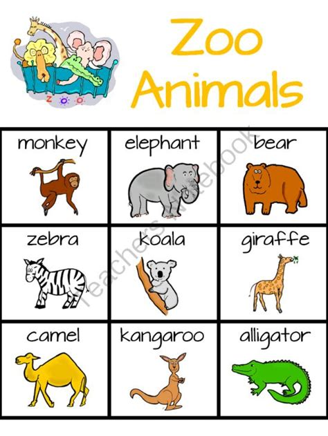 printable zoo animal matching game 8 best images of printable zoo animal matching game zoo