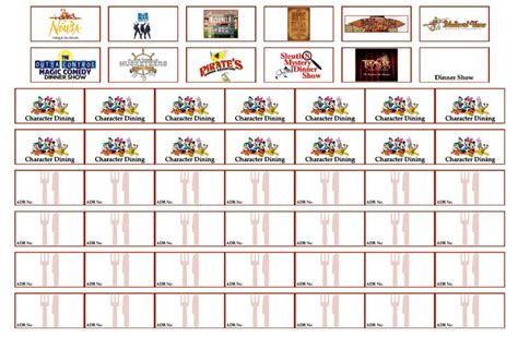 printable orlando vacation planner walt disney world orlando vacation planner free
