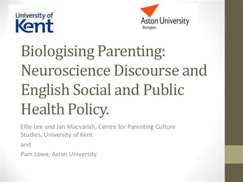 Marketing Health And The Discourse Of Health biologising parenting neuroscience discourse and social and