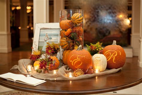 fall wedding decorations ideas fall wedding ideas on fall wedding pumpkin