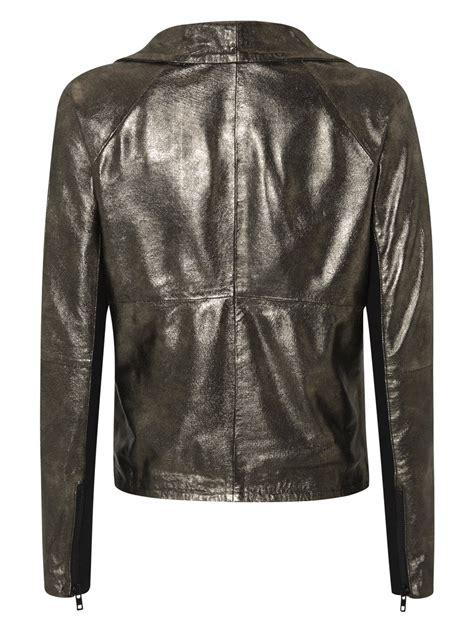 drape jacket noville metallic suede drape jacket