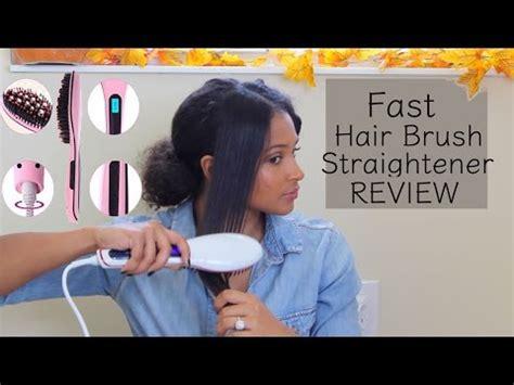 Brush Hair Straightener Cepillo Plancha No Chino 110000 En | cepillo alisador en pelo muy rizado funciona lunae