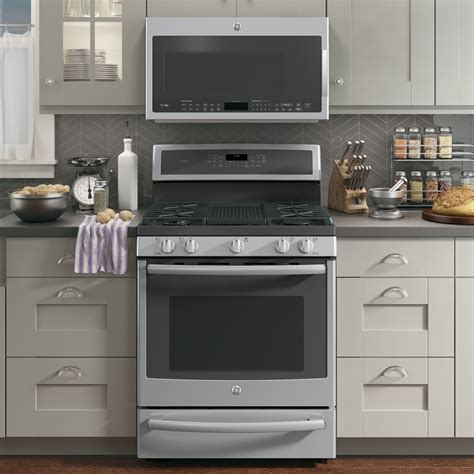 ge profile kitchen appliances pgb940sejss ge profile series 30 quot free standing gas