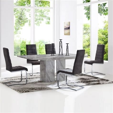 marble dining table and chairs marble dining table and 4 chairs uk furniture in fashion