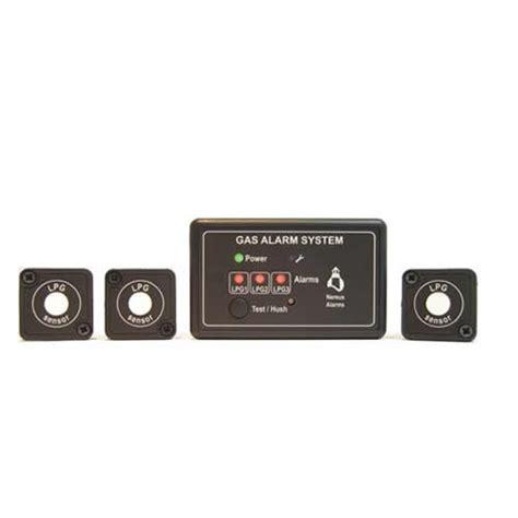 boat carbon monoxide detector nereus lpg and carbon monoxide gas boat alarms