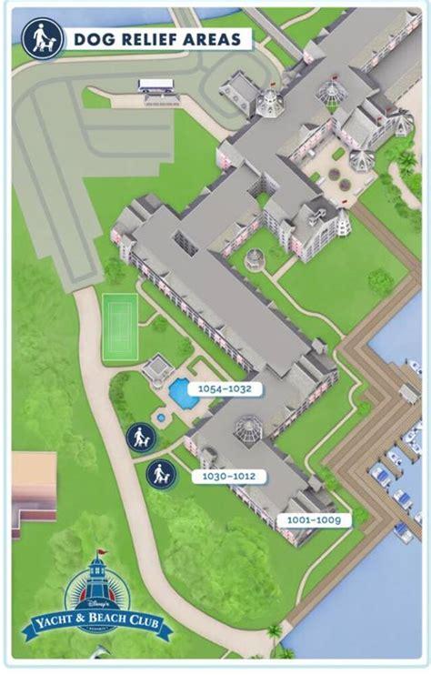 club resort map disney walking map for disney yacht club resort walt disney