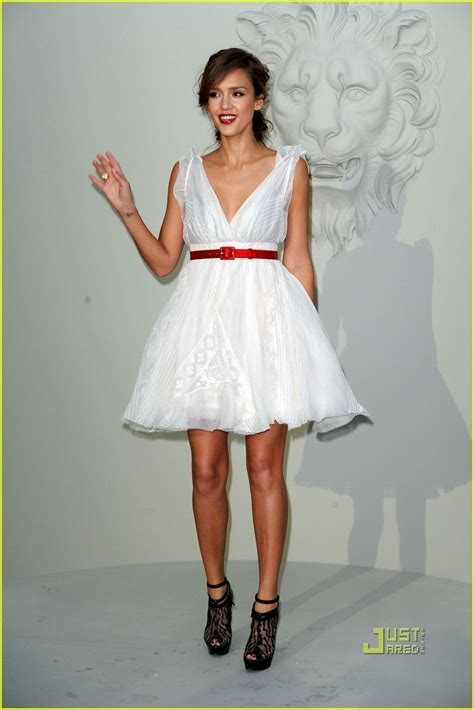Alba Goes Chanel by Fashion Style Fashion Alert White Dress Is The New Black